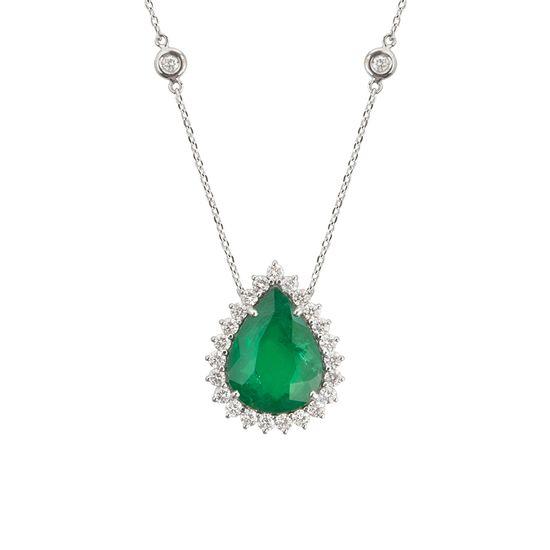 colar-esmeralda-gota-brilhante