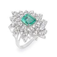 anel-esmeralda-colombiana-quadrada-brilhantes