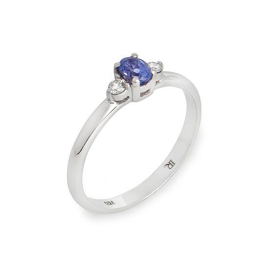 anel-ouro-branco-tanzanita-brilhantes