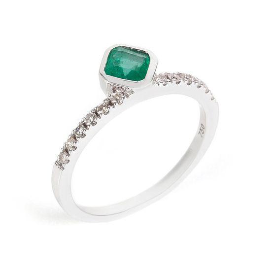 anel-ouro-branco-coroa-esmeralda-brilhantes