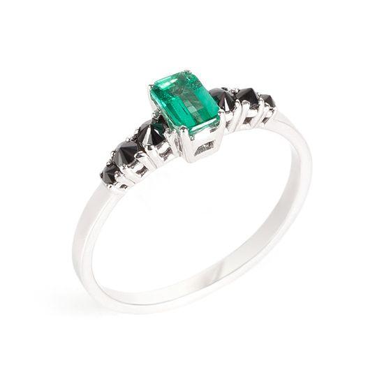 anel-ouro-branco-esmeralda-diamante-negro