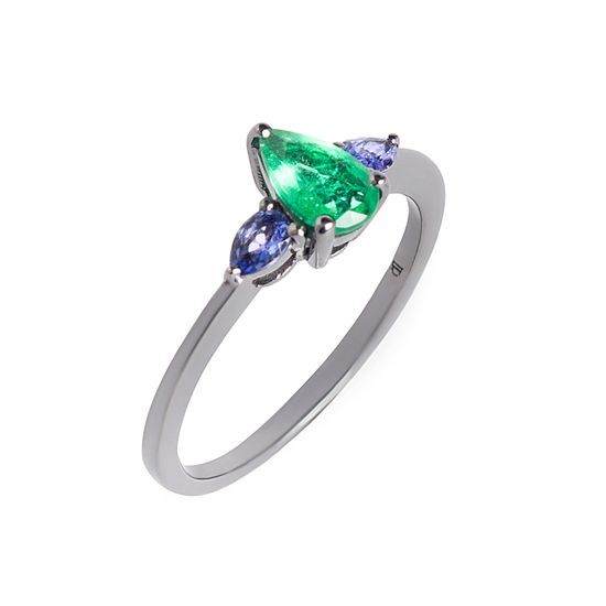 anel-esmeralda-gota-tanzanita