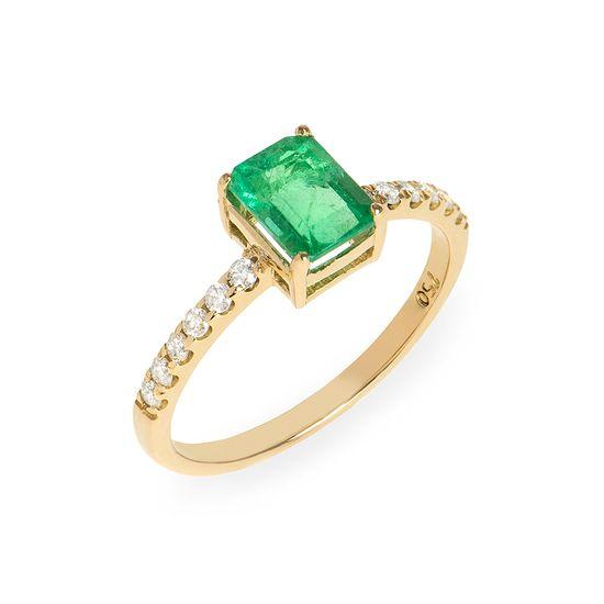 anel-ouro-amarelo-esmeralda-brilhantes
