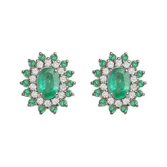 brinco-esmeralda-brilhantes-brancos