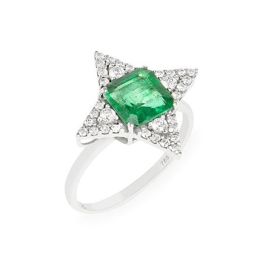 anel-estrela-esmeralda-brilhantes