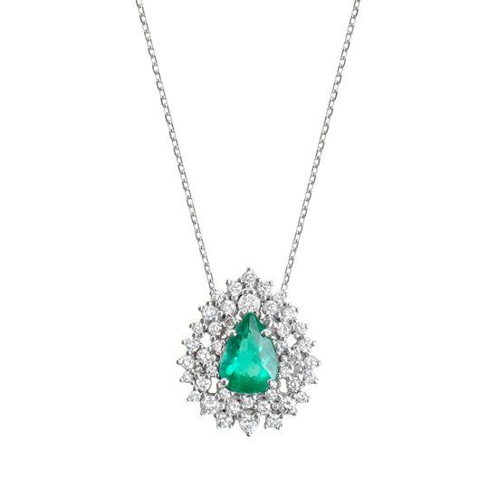 colar-snow-flakes-esmeralda-brilhantes-brancos-detalhe
