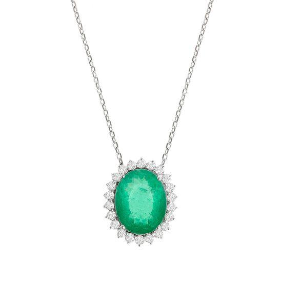 colar-esmeralda-oval-brilhantes-brancos